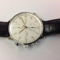 IWC Portuguaise Chronograph Rattrapante and steel ref.3712