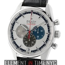 Zenith El Primero Striking 10th Chronograph 42mm Stainless...