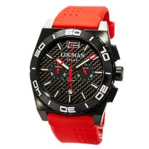 Locman Stealth 0212BKKA-CBKSIR Quarz Chronograph Men's Watch