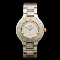 Cartier Must de Cartier Stainless Steel/18k Yellow Gold Ladies...