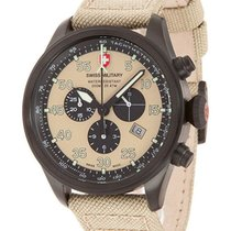 Swiss Military Cx Swiss Military Hawk Nero Rawhide Chrono...
