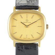 Certina Women's Yellow Gold Quartz Watch 5014019