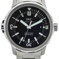 IWC Aquatimer 42 Steel Black Dial
