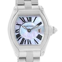 Cartier Roadster Purple Mother Of Pearl Dial Ladies Watch...