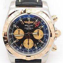 Breitling Cb0420 Chronomat 44 Gmt Steel & 18k Rose Gold ...