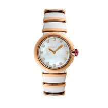 Bulgari Lucea Quartz No Date Ladies watch LU28WSPGSPG12
