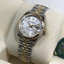 Rolex Datejust 279173 White Silver Roman Dial 28mm [NEW]