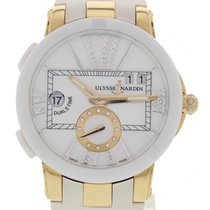 Ulysse Nardin Ladies  Marine Dual Time 246-10 18k RG / Ceramic