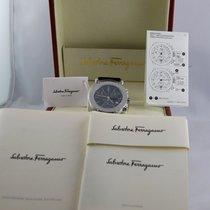 Salvatore Ferragamo Cronografo, Nuovo, New