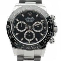 Rolex Daytona Ceramic Bezel Stainless Steel Black Dial  Ref....