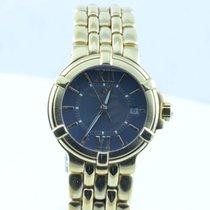 Maurice Lacroix Calypso Damen Uhr Stahl Vergoldet Quartz 28mm...
