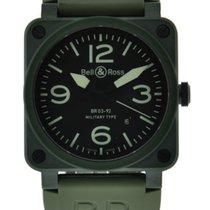 Bell & Ross Br03-92 Military Green Ceramic Black Dial...