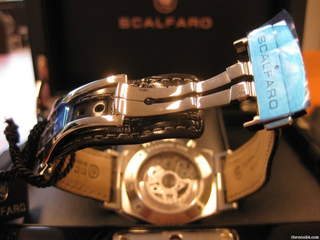 Scalfaro Porto Rotondo Chronograph Tricompax