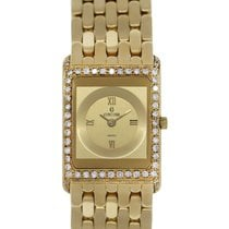 Concord Delirium 18K  Gold Diamond Bezel Ladies Watch