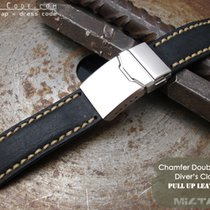 IWC 21mm Pull Up Leather Replacement Band #C1A01