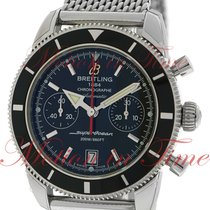 Breitling Superocean Heritage Chronograph 44mm, Black Dial,...