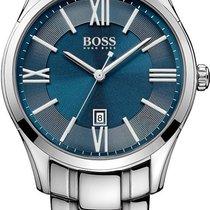 Hugo Boss Ambassador Round 1513034 Herrenarmbanduhr Klassisch...