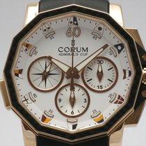 "Corum ""Admiral's Cup Challenge 44 Rattapante"" 18K..."