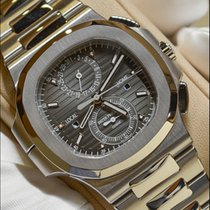 Patek Philippe 5990/1A-001Nautilus Chronograph Travel Time...