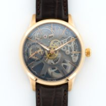 Maurice Lacroix Rose Gold Masterpiece Squelette Skeleton Watch