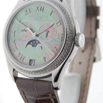 Patek Philippe Complications 18k White Gold MOP & Diamond...