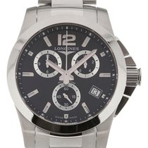Longines Conquest 41 Chronograph Steel