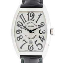 Franck Muller New  Vintage Stainless Steel Silver Automatic...