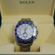 Rolex NEW Yacht Master II Stainless Steel w/box+papers-116680