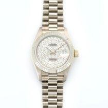Rolex Lady's White Gold Datejust Diamond Ref. 69179