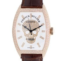 Franck Muller New  Gothique 18k Rose Gold White Automatic 8880...