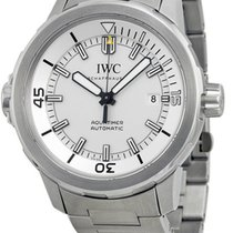 IWC IW329004 Aquatimer Swiss Automatic Silver Dial Men Steel...