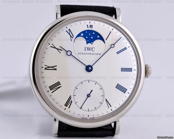 IWC Portofino Vintage Collection Moon Platinum Limited NEW