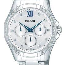 Pulsar PP6099X9 Damenuhr silber mit Strass Multifunktion
