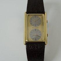 Bulgari VINTAGE RARE TWO TIME ZONE 18K GOLD BY GENTA 1970'S