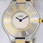 Cartier Must de Cartier 21 Rolleauxband Stahl/Gold Klassiker Top