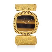 Piaget 9431 8 72 Vintage Aztec Ladies Watch in Yellow Gold -...