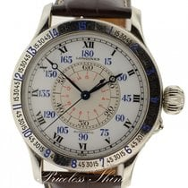 Longines Lindbergh Hour Angle L2.678.4 Steel Automatic 48 Mm...