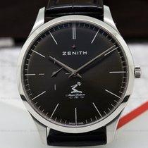 Zenith Elite Ultra Thin Grey Dial SS / Strap