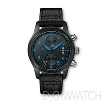 IWC PILOT BLUE CHRONOGRAPH TOP GUN BOUTIQUE EDITION CERAMIC AND