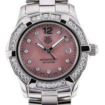 TAG Heuer Aquaracer Diamanten Rosa Perlmutt