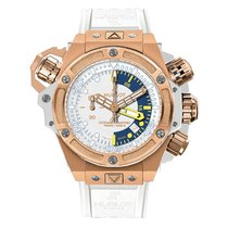Hublot King Power Oceanographic 100M 48mm Automatic 18K Rose...