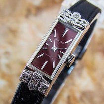Seiko Fine White Gold Plated Rare Manual 1940s Ladies Japanese...