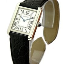 Cartier W1018355 Tank Solo - Large Size - Steel on Strap
