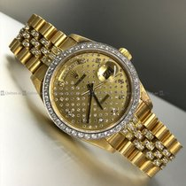Rolex - Day Date 18048 Diamond Bezel Y/G