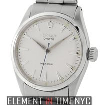 Rolex Oyster Stainless Steel Silver Index Dial Circa 1955