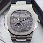 Patek Philippe Nautilus Power Reserve Moonphase 18K White Gold...