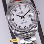 Rolex Oyster Perpetual Datejust 36mm Ref 116200 White R...
