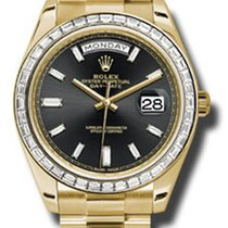 Rolex Day-Date 40 Yellow Gold -Diamond Bezel 228398TBR bkbdp