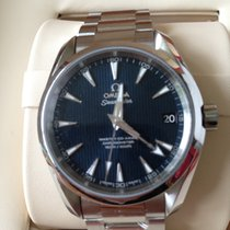 Omega Seamaster Aqua Terra Master Co-Axial Blue NEW