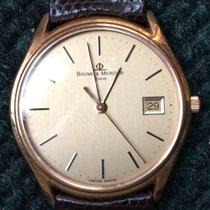 Baume & Mercier Vintage Atlantis Quartz 14K Gold 95248...